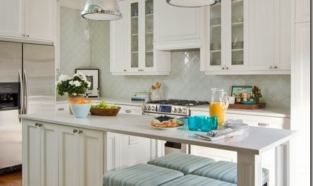 has pictures of kitchens featuring cream or antique white kitchen